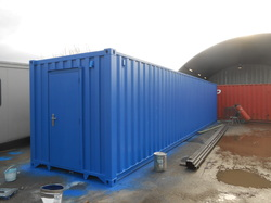 40ft Biogas Store Case Study